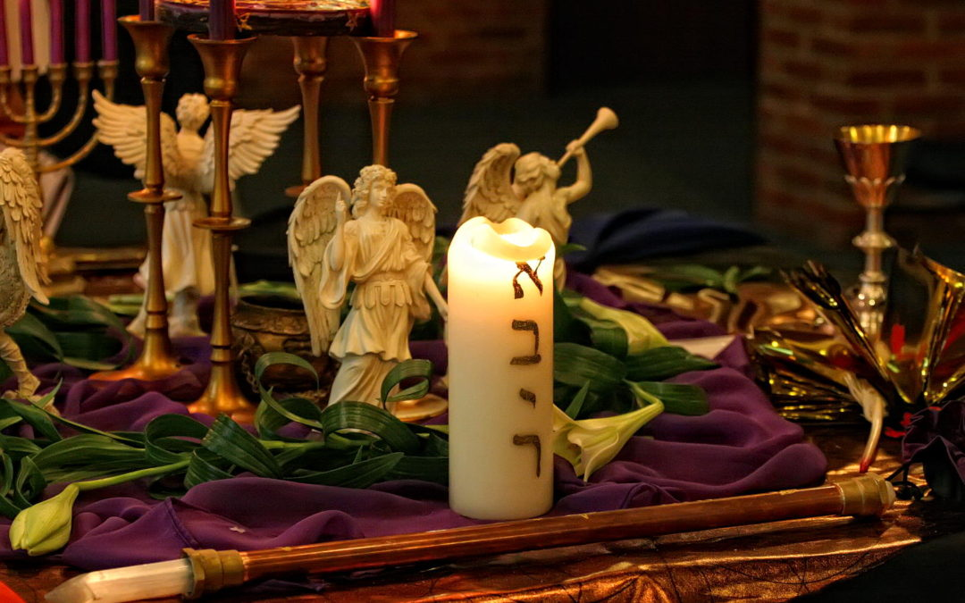 Angel with the flaming Torch – Angels of the Turning of the Year
