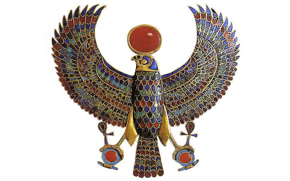 The Multicolored Feathered Horus