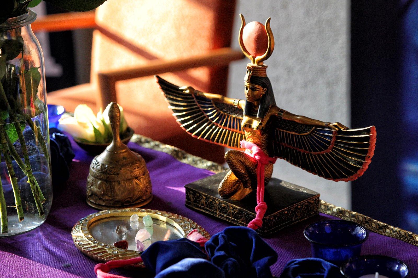 The Magical Mirror of Hathor